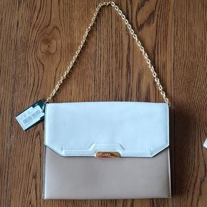 🆕️ Ralph Lauren Envelope Bag with Gold Chain